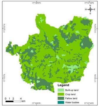 Maps Figure 4. shows the land use/ land cover of the study Figure 14 Land use