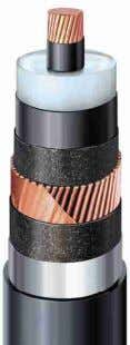 Applicable standards IEC 62067 (2001) XDRCU-ALT 500/290 kV Copper conductor Outer Cable weight Capacitance