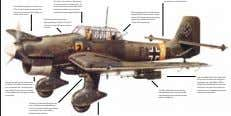 The Ju 87B was powered by a Junkers Jumo 211Da 12-cylinder liquid-cooled engine. The notch