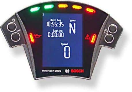 www.bosch-motorsport.com) Temperature -10 65 °C Electrical Data x CAN interface for communication with