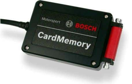 The measured data are stored on a compact flash card. Mechanical data Necessary equipment Dust and