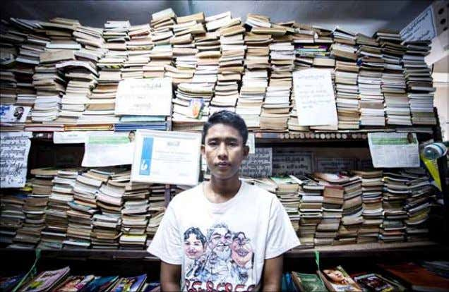 the pulse THE MYANMAR TIMES June 23, 2015 Don't lock up books, says Yangon's 'free librarian'