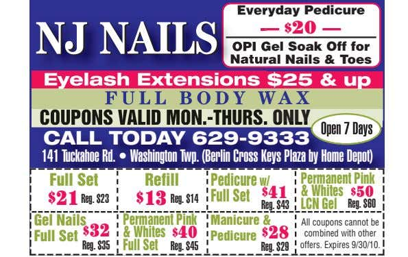 Everyday Pedicure NJNJ NAILSNAILS — $ 20 — OPI Gel Soak Off for Natural Nails