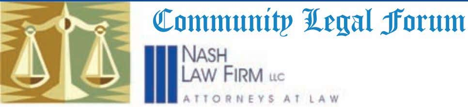 Community Legal Forum