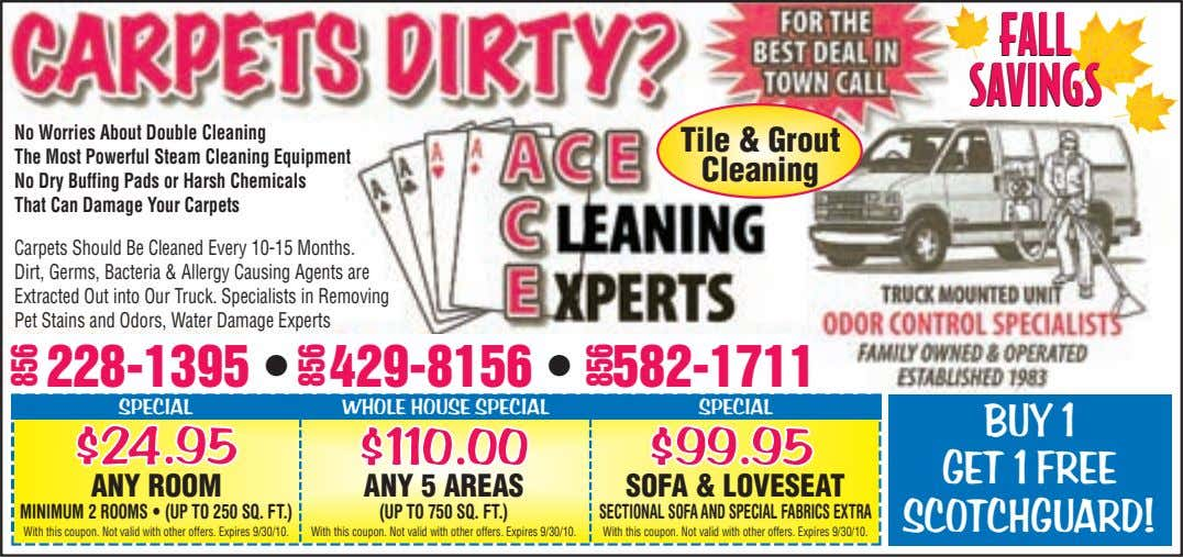 FALL FALL SAVINGS SAVINGS No Worries About Double Cleaning The Most Powerful Steam Cleaning Equipment