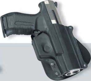 P99 belt holster   Made of polymer 266 76 31 03 P99 paddle holster Made of