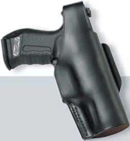 quality suppliers are selected to be WALTHER suppliers. 01 P99 leather holster 263 92 62 Defense
