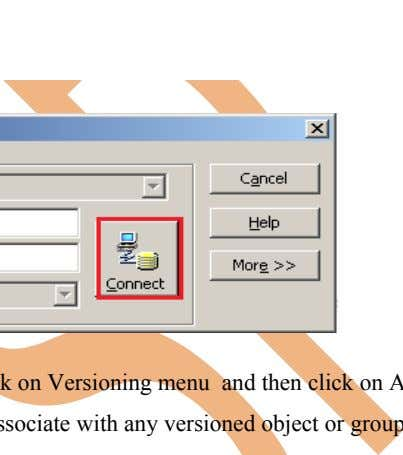 Right Click on Step-3 Select Folder and go to Menu bar, click on Versioning menu and