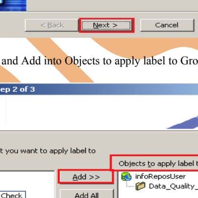 Step-4 And then click on Next button for Apply Label Wizard. Step-5 Select Folder and Add