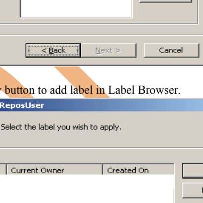 Step-6 Click on browse button to add label Step-7 Click on New button to add label