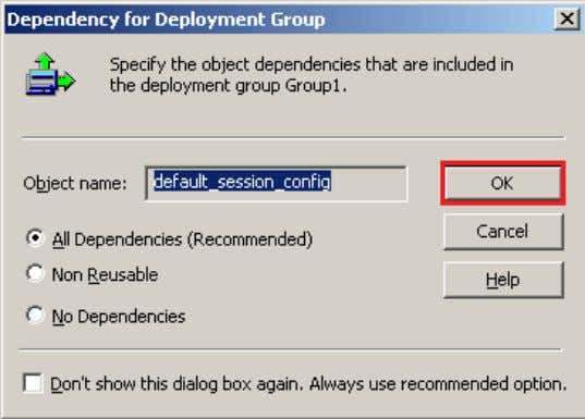 Dependency for Deployment Group and click on OK button. www.bispsolutions.com Page 25 www.bisptrainigs.com