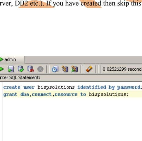 Server, DB2 etc.). If you have created then skip this step. www.bispsolutions.com Page 6 www.bisptrainigs.com