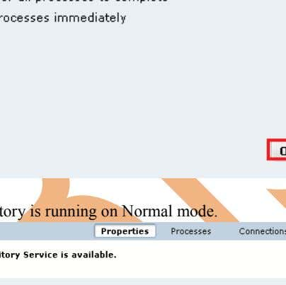 Select option according to you and then click OK button. Step-11 Now, repository is running on