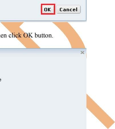 Step-9 Click on OK button. Step-10 Select option according to you and then click OK button.