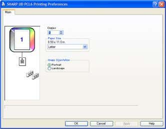 5 and you can print. Its machine image is not displayed. Fig. 4 [Printing Preferences] without