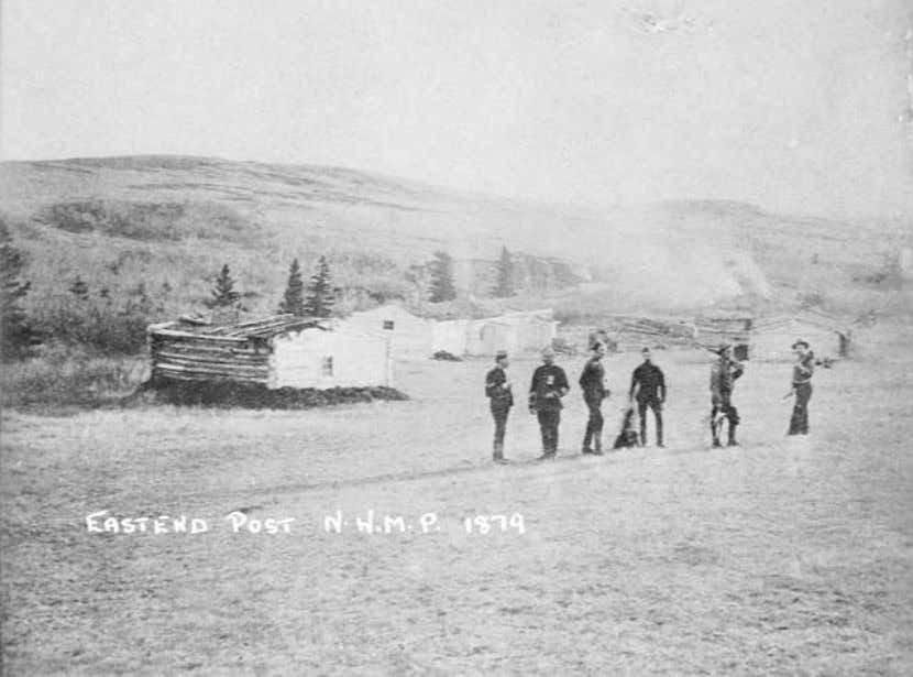 intermittently until about 1887, primarily as a way station for police patrols between Fort Walsh and