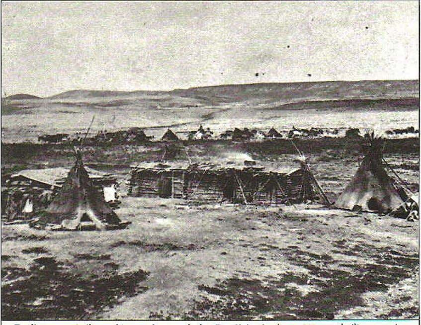 Fort Union in 1865 . Fort Vermillion, Alberta: Fort Vermillion was established in the late 1700s