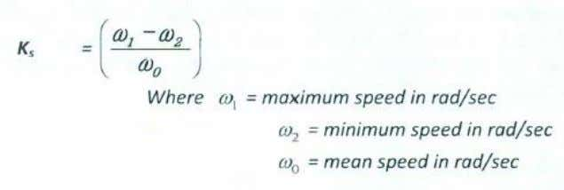 mean speed is called Coefficient of fluctuation of speed. Department of Mechanical & Manufacturing Engineering,