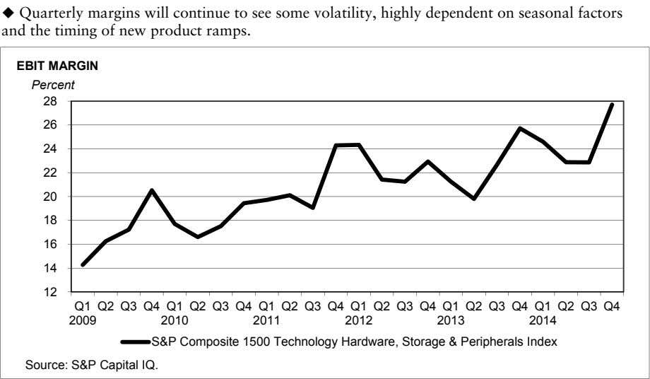   Quarterly margins will continue to see some volatility, highly dependent on seasonal factors