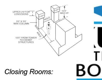 Closing Rooms: