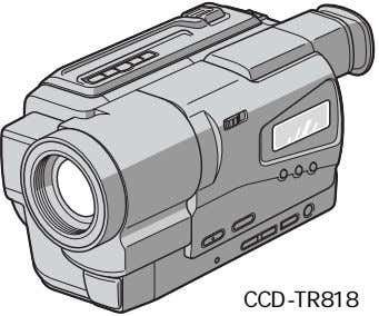 CCD-TR818