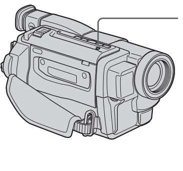 CAMERA mode. indicator appears in the viewfinder while your LIGHT CCD-TR618 To turn off the built-in