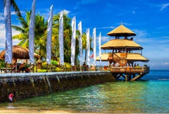 Pearl Farm Beach Resort • • • • Location: Samal Island, Davao The area is blessed