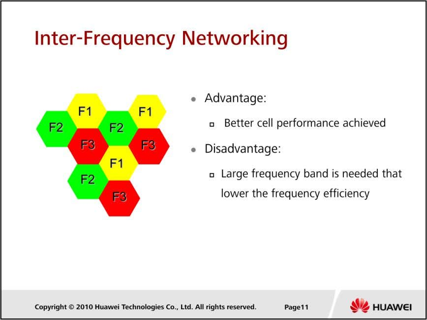 LTE Cell Planning  Application scenario:  Adapt to situations that the operator frequency resources are