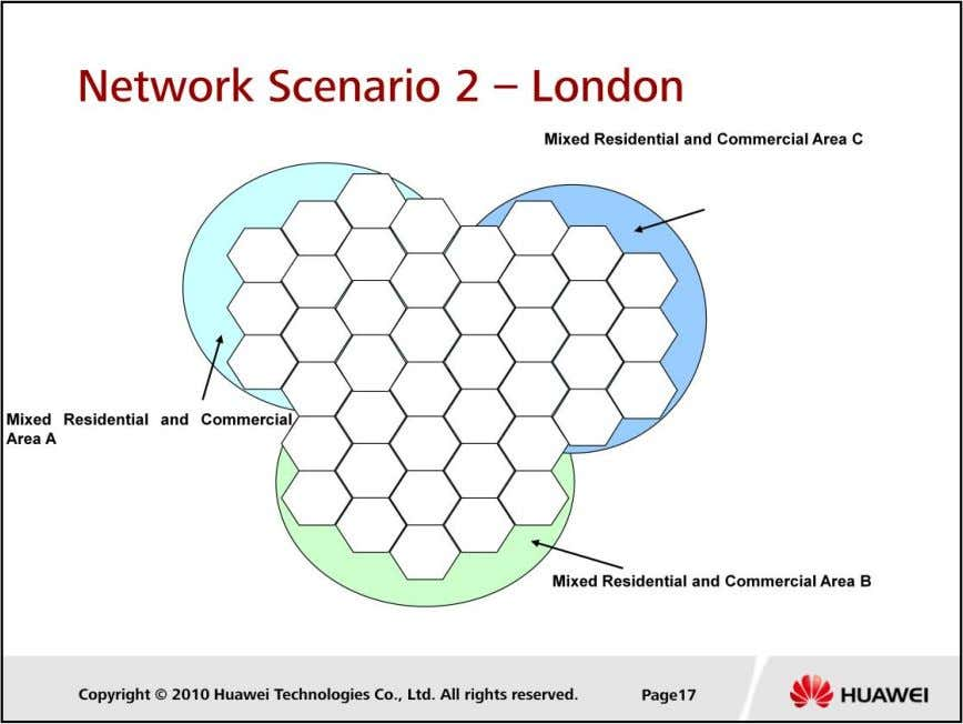 LTE Cell Planning  In this scenario, users are average distributed in each area Confidential Information