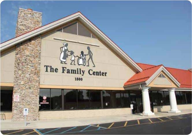 The The Family Family Center Center Benefits of The Family Center The Family Center, established by