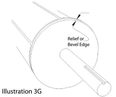 Relief or Bevel Edge Illustration 3G