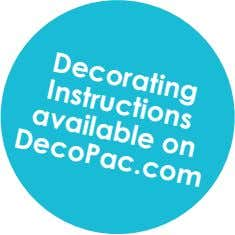 Decorating Instructions available on DecoPac.com
