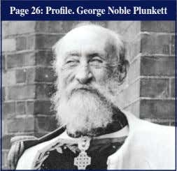 Page 26: Profile. George Noble Plunkett