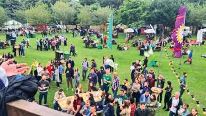 (Photo: Dermot Carmody) Big Grill returns to Herbert Park T he Big Grill which prides itself