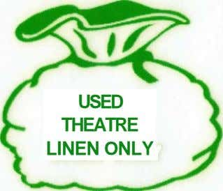 USED THEATRE LINEN ONLY