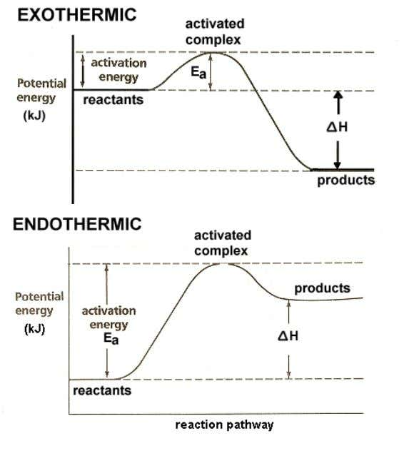 20 o The overall enthalpy change in a reaction is equal to the sum of enthalpy