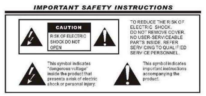 Safety instructions for product with Lithium battery WARNING: Do not use this product in place where