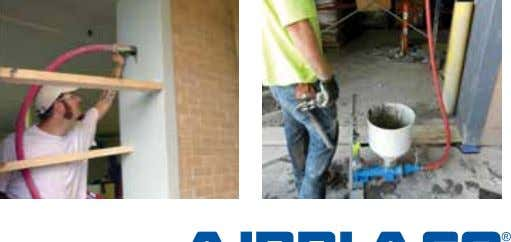 hopper Door frame grouting Hand-operated for small jobs American Owned | American Built 888.349.2950 |