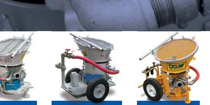 Dry Mix Equipment Gunite Machines Model Comparison   C-10SL C-10HHD CY-61A Machine Style Rotary