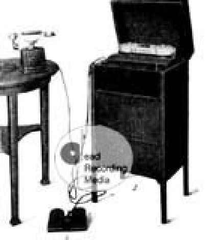 1924-1959: From cathode ray tube to stereo audio and TV 5 Daylygraph wire recorder • The
