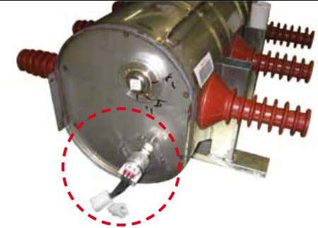 done through the front valve. 13 Two-level pressure switch The device allows the internal pressure of