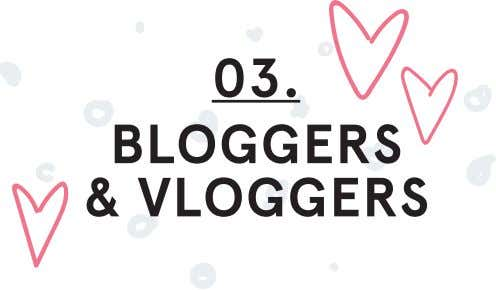 03. BLOGGERS & VLOGGERS