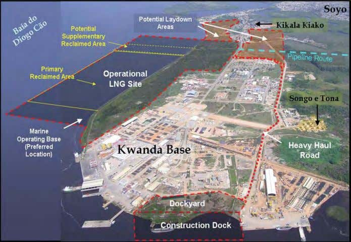 facilities and 10 E NVIRONMENTAL R ESOURCES M ANAGEMENT Aerial View of Kwanda Island Showing Proposed