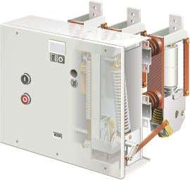 VA Mechanical design VA 12 kV - View: Operating and drive side VA 12 kV -
