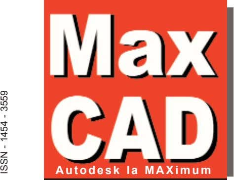 Autodesk la MAXimum ISSN - 1454 - 3559
