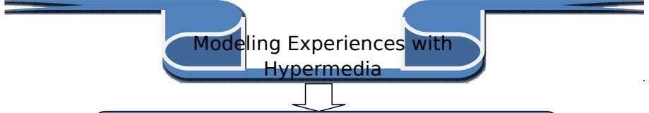 Modeling Experiences with Hypermedia