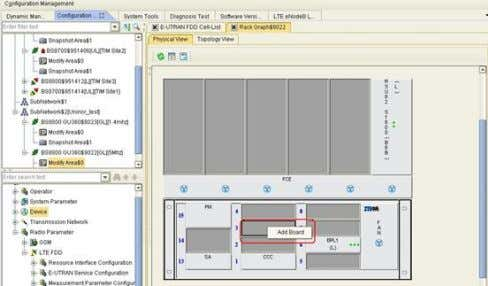 then choose Add board. Figure 4 - 3 Adding the CR0 Board 2. In the dialog