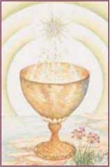 AND THE COSMIC HUMAN Symbols supporting life in general: 5 . The Grail (a chalice) The