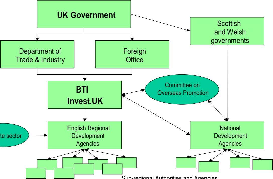 UK Government Scottish and Welsh governments Department of Trade & Industry Foreign Office BTI Committee