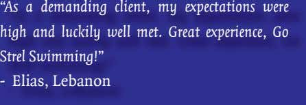 """As a demanding client, my expectations were high and luckily well met. Great experience, Go"